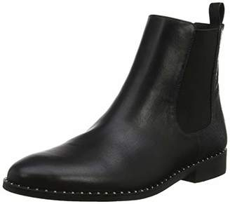 Head Over Heels Women's Petunia Ankle Boots Black Synthetic, 6 (39 EU)