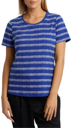 Essential Short Sleeve Tee Matchstick Stripe