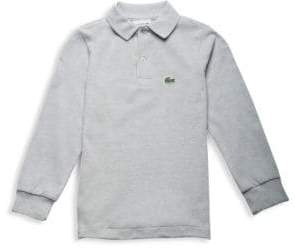 Lacoste Little Boy's& Boy's Long-Sleeve Ribbed Collar Sweater