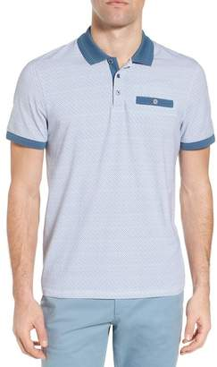 Ted Baker Sloughi Trim Fit Stretch Polo Shirt