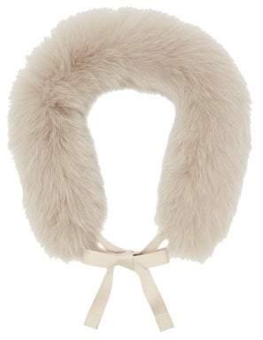 Max Mara S Union Collar - Womens - Light Grey