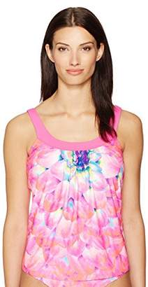 CoCo Reef Women's Tankini Top Swimsuit Embroidery Detail