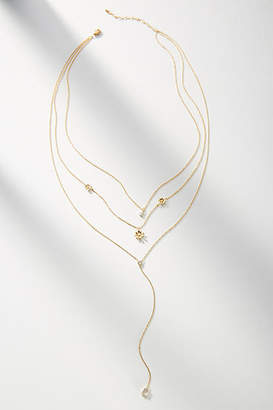 Anthropologie Florette Layered Y-Necklace
