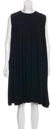 Co Crepe Pleated Dress