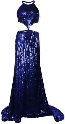 Sherri Hill Long Sequins Dress