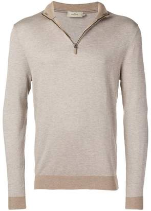 Hackett zip jumper