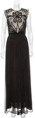 Amen Bead Embellished Maxi Dress w/ Tags