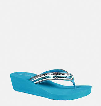 Avenue Cora Sequin Trim Flip Flop