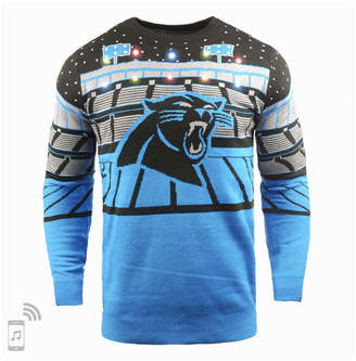 Forever Collectibles Men Carolina Panthers Bluetooth Sweater