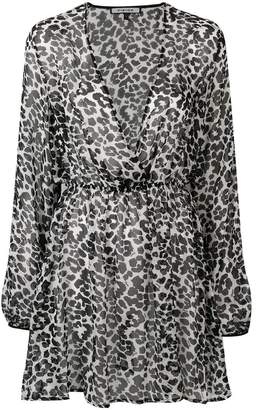 Fisico leopard print cover up