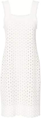 Derek Lam Eyelet Detail Cami Dress