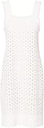 Derek Lam Eyelet Detail Cami Dress