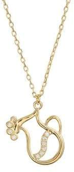 Kate Spade Celestial Charm Aquarius Pendant Necklace