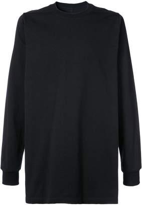 Rick Owens long-line long sleeve T-shirt