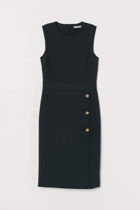 H&M Fitted Dress - Green