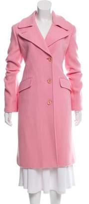 Lafayette 148 Long Wool Coat