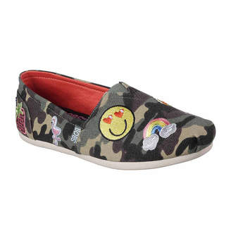 Skechers BOBS FROM  Bobs Womens Plush Perfect Patch Slip-On Shoe Closed Toe