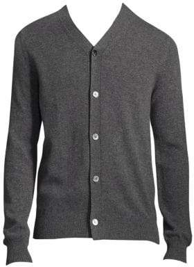Comme des Garcons Buttoned Wool Cardigan