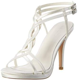 Menbur T-bar sandals - ivory nc2098ccJ