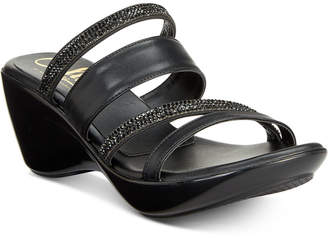 Callisto Viera Strappy Platform Wedge Sandals, Created for Macy's Women's Shoes