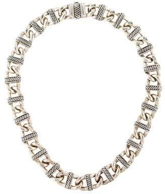 David Yurman Madison Curb Link Necklace
