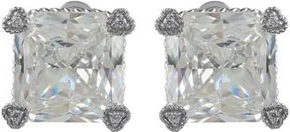 Judith Ripka Sterling Diamonique Montana Stud Earrings