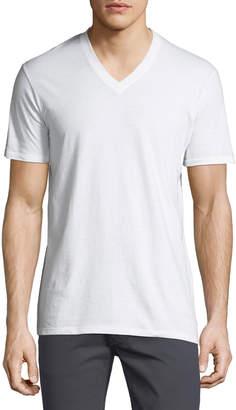 DKNY 3-Pack Cotton V-Neck Shirts
