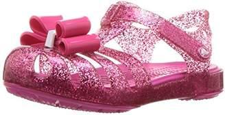 Crocs (クロックス) - [クロックス] サンダル イザベラ ボウ キッズ 205382 Candy Pink 12 cm