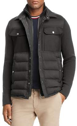 Moncler Maglione Tricot Down Knit Jacket