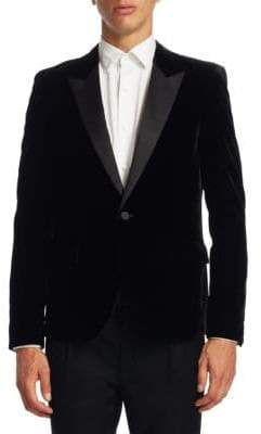 Saint Laurent Velet Slim-Fit Tuxedo Jacket