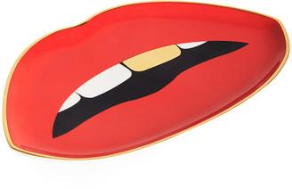 Jonathan Adler Lips Trinket Tray - Red