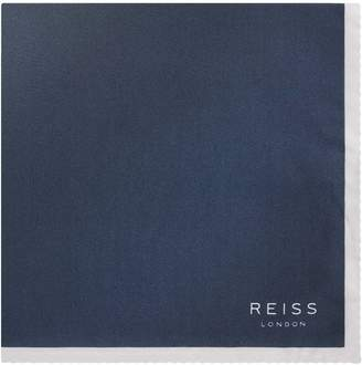 Reiss Sunset Tonal Silk Pocket Square