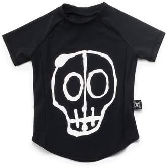 Nununu Infant Skull Mask Rashguard