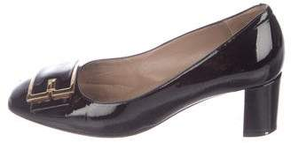 Bruno Magli Vintage Patent Leather Pumps