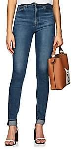 J Brand Women's Carolina High-Rise Skinny Jeans - Md. Blue