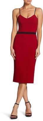 Dress the Population Emma Spaghetti Strap Body-Con Dress