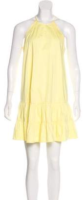 Rebecca Taylor Ruffled Mini Dress