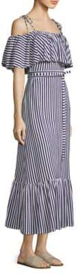 DAY Birger et Mikkelsen MDS Stripes Rebecca Ruffle Stripe Dress