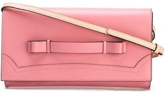 RED Valentino two-tone clutch