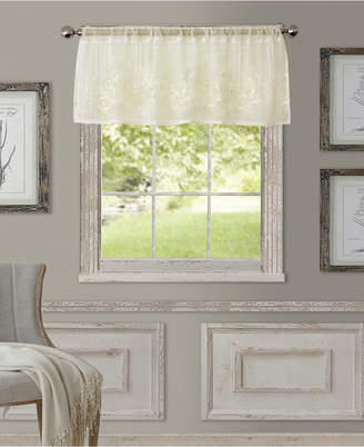 """Elrene Sheer Addison 60"""" x 17"""" Window Valance"""