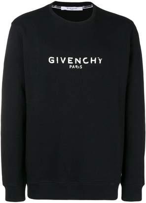 Givenchy faded logo sweatshirt