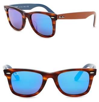Ray-Ban Icons 52mm Wayfarer Sunglasses