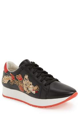 Linea Paolo Enzo Embroidered Sneaker