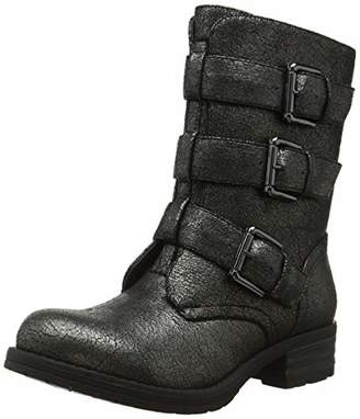 5d15774f221a Joe Browns Womens Low Heel Buckle Biker Boots 4