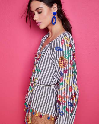 Michael Kors Floral-Lace Slip Sheath Dress
