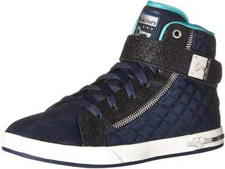 Skechers Girls' Shoutouts-Quilted Crush Running Shoe
