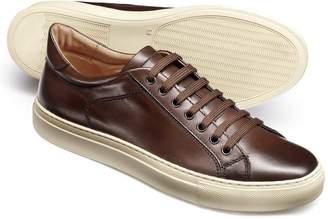 Charles Tyrwhitt Brown Tutwell Sneakers Size 9