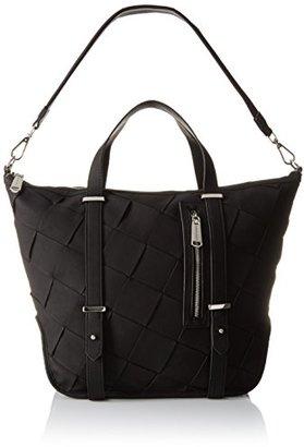 Steve Madden Bsydneyy Woven Satchel Bag $79.99 thestylecure.com