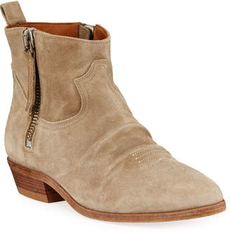 Golden Goose Viand Suede Ankle Boots