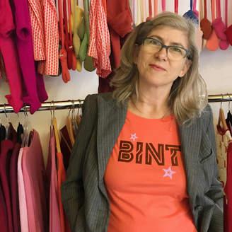 Splendid Twisted Twee Bint Christmas T Shirt For The Older Woman